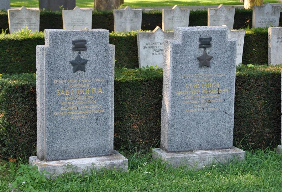 Vienna Russian War Cemetery - Austria - euro-t-guide ...