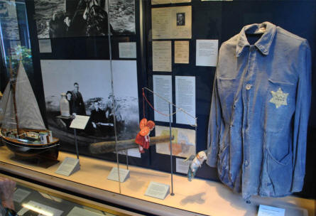 Items related to the rescue of the Danish Jews to Sweden during World War II can be seen at the Museum of Danish Resistance in Copenhagen.