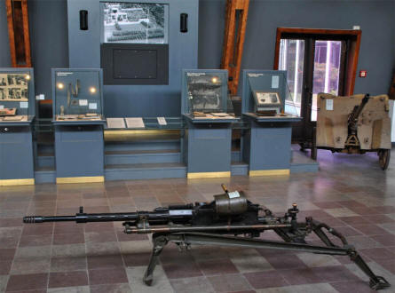 Different World War II items can be seen at the Museum of Danish Resistance in Copenhagen.