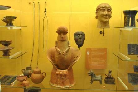 A small part of the ancient European collection at the main branch of the Danish National Museum.