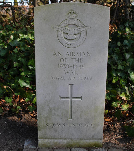 "One of the ""unknown"" RAF War Graves at Odense Assistens Cemetery."