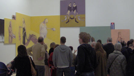 One of the temporary exhibitions at ARoS in 2006