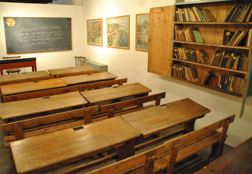 class room denmark