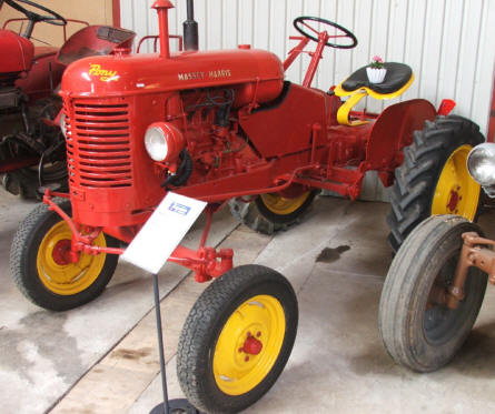 A classic Massey-Harris at the Danish Ferguson Museum in Glud.