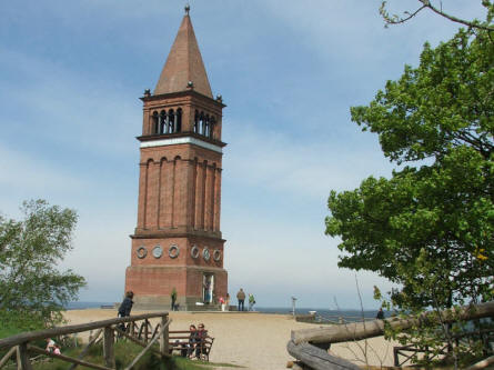 At the top of the Himmelbjerget there is a small tower, which gives you an even better view from the top.