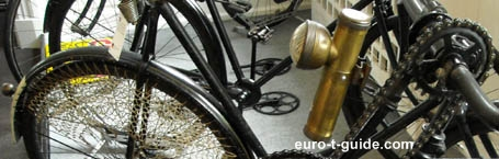 Denmark's Bicycle Museum - Cykel museum - Aalestrup - Denmark - Moped - Radio - Electrical equipment - European Tourist Guide - euro-t-guide.com