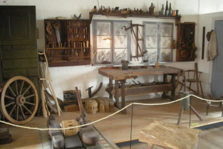 Different craftsman workshops are a part of the regional heritage collection at Sønderborg Castle.