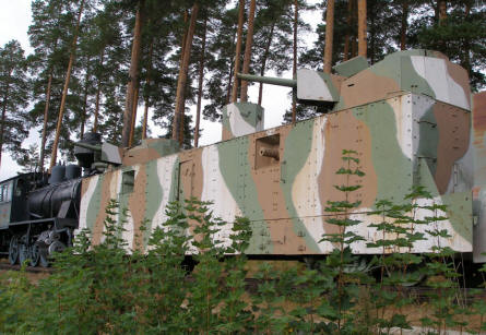 Armoured train - Finland