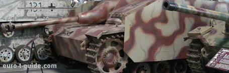 Tank Museum - Mus�e des Blind�s - Saumur - France - Panzer - World War II - European Tourist Guide - euro-t-guide.com