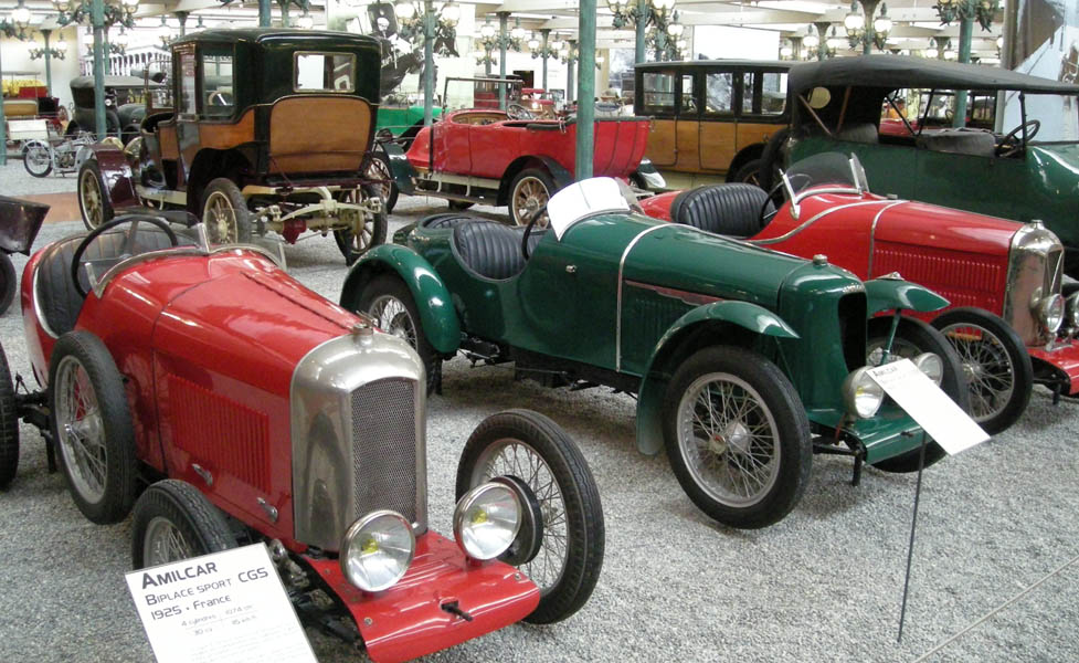 Some Of The Vintage Cars At Collection Schlumpf   French National  Automobile Museum.