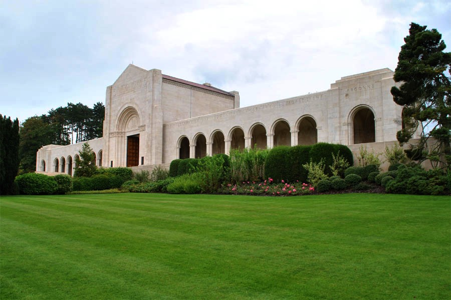 Meuse-Argonne American Cemetery and Memorial in Romagne ...