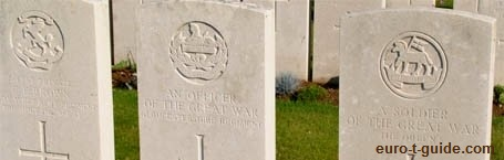 Ovillers Military Cemetery - Albert - France - World War I - Memorial - European Tourist Guide - euro-t-guide.com