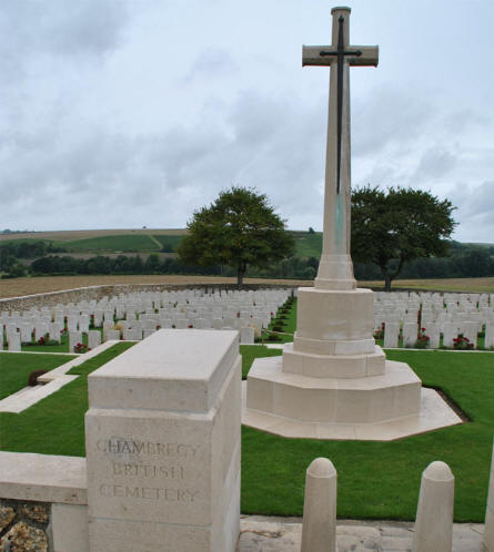 The Chambrecy British Cemetery.