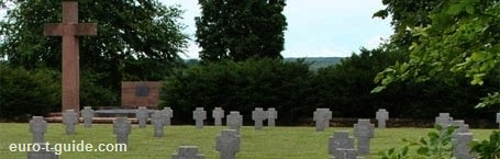 Souain Germanl War Cemetery -  World War I Memorial - European Tourist Guide - euro-t-guide.com