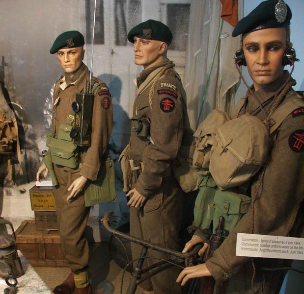 Les musées en Normandie et  du Nord de la France Musee-4-Commando-2006-09