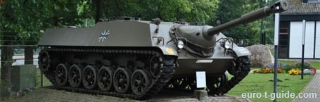 German Panzer (Tank) Museum - Munster - Germany - World War II - Cold War - Military - European Tourist Guide - euro-t-guide.com