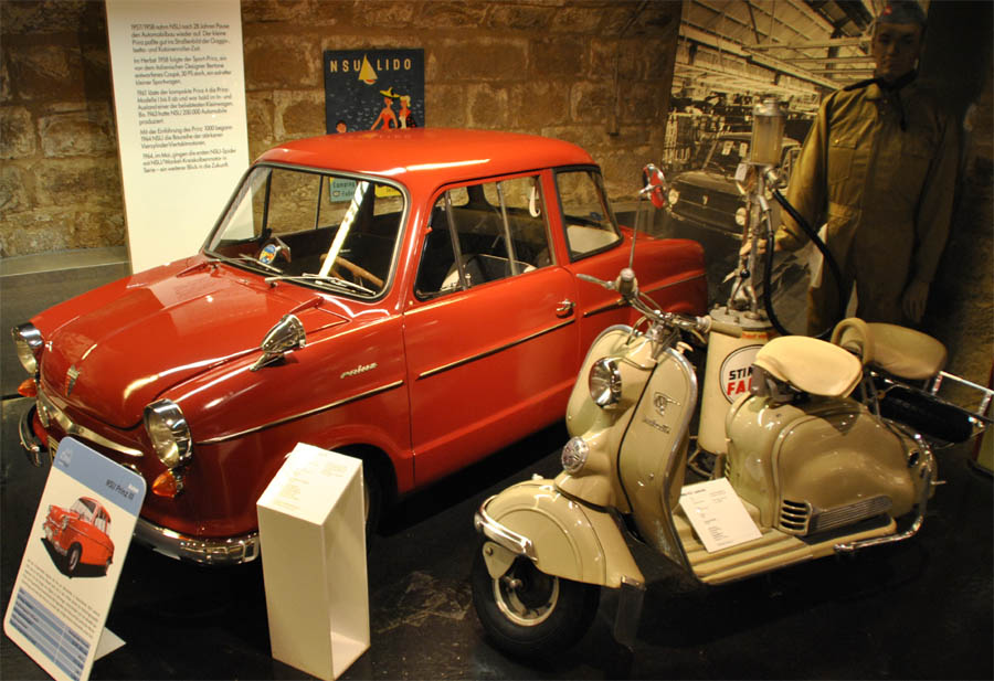german two wheeler nsu museum euro t guide germany what to see 1. Black Bedroom Furniture Sets. Home Design Ideas
