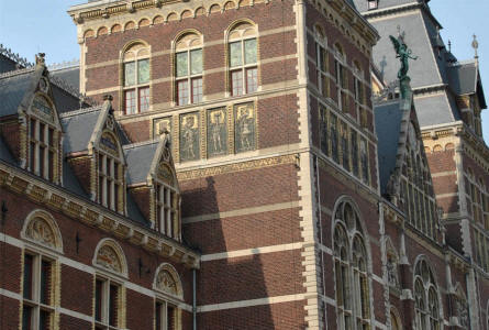 Details from the Royal Palace of Amsterdam.