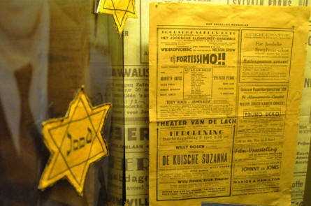 The story of the faith of the Dutch Jews during World War II is a part of the Dutch Resistance Museum in Amsterdam.