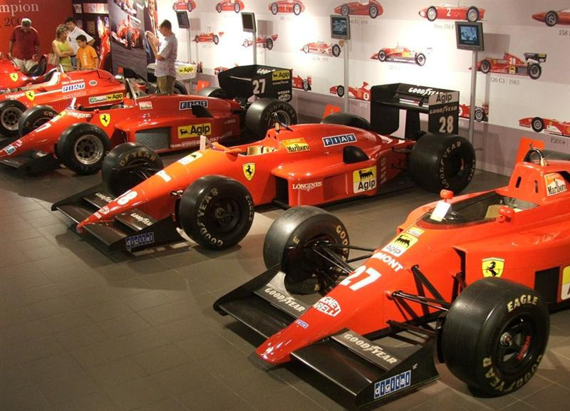 galleria ferrari museum euro t guide italy what to. Black Bedroom Furniture Sets. Home Design Ideas