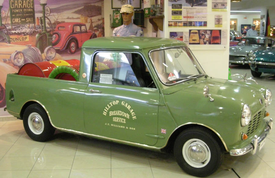 Malta classic car collection euro t guide malta what to see 3 a classic morris 1000 pickup at the malta classic car collection sciox Images