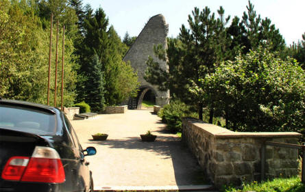 The entrance to the Dukla Memorial which is located at that main road thru the Dukla Pass - almost at the Slovakia/Poland boarder. The nearby cemetery is the resting place of 563 soldiers of 1st Czechoslovak Army Corps.