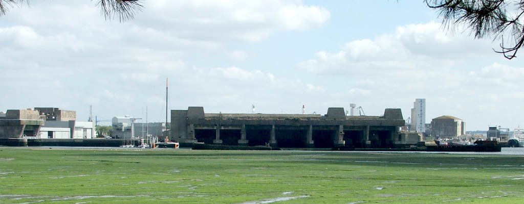 Lorient German U-boat base - euro-t-guide - France - What ...